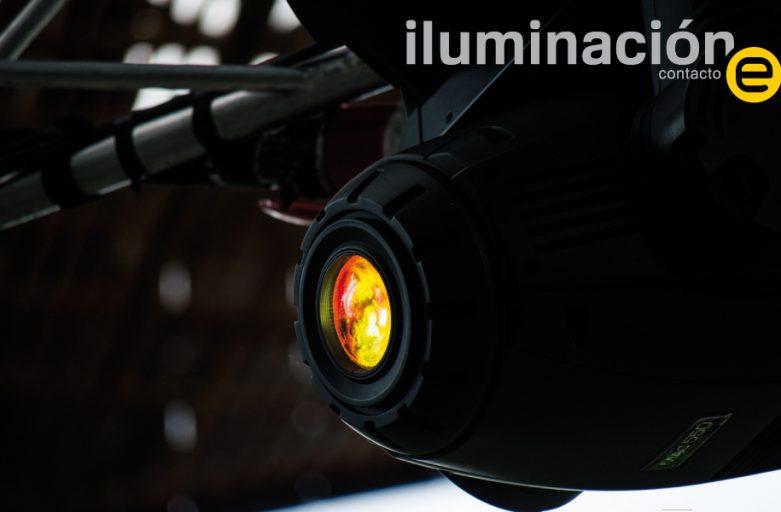 iluminación contacto e